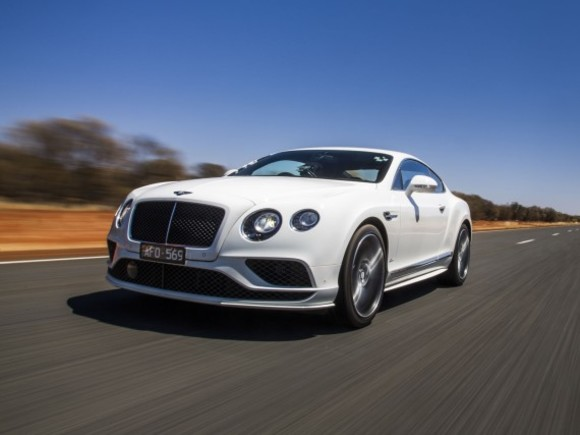 Bentley Continental Speed im Outback von Australien