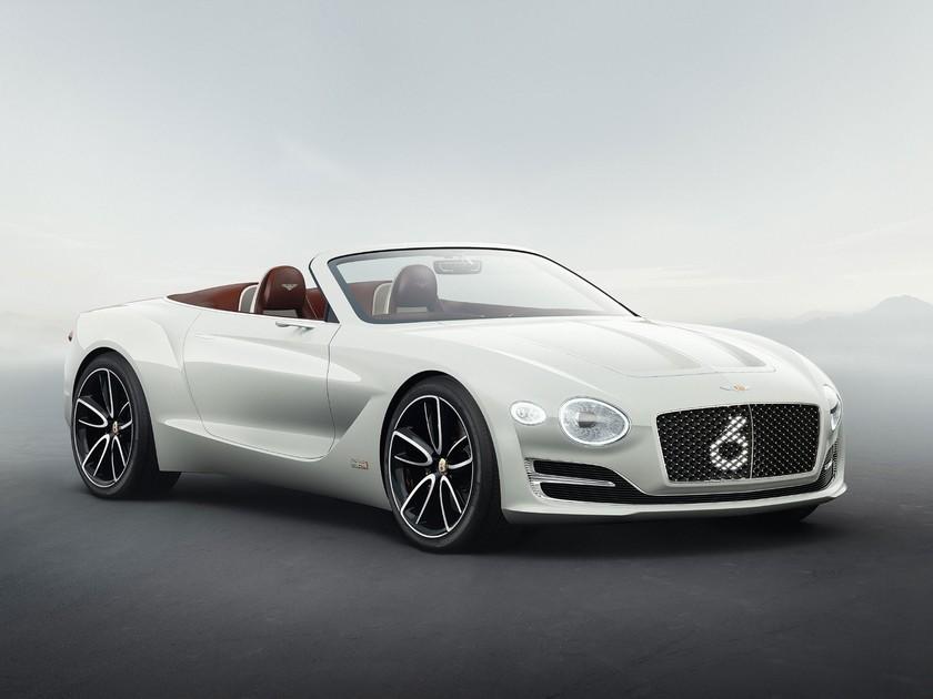 Bentley mit Elektroauto Concept auf der Monterey Auto Week ::: auto ...