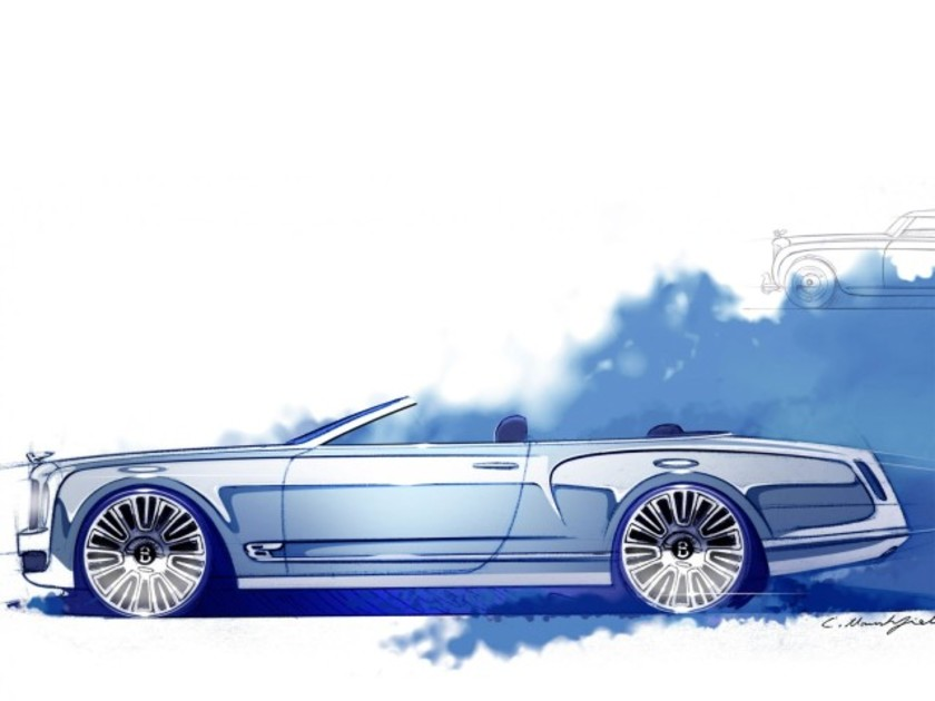 Concept bentley mulsanne convertible 001