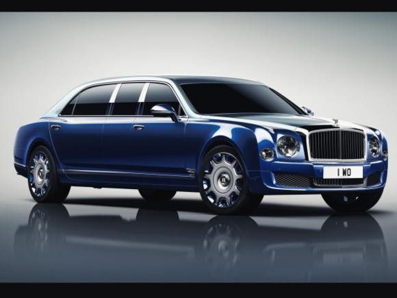 Neu: Bentley Mulsanne Grand Limousine by Mulliner