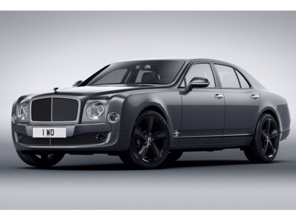 Streng limitiert: Bentley Mulsanne Speed Beluga Edition