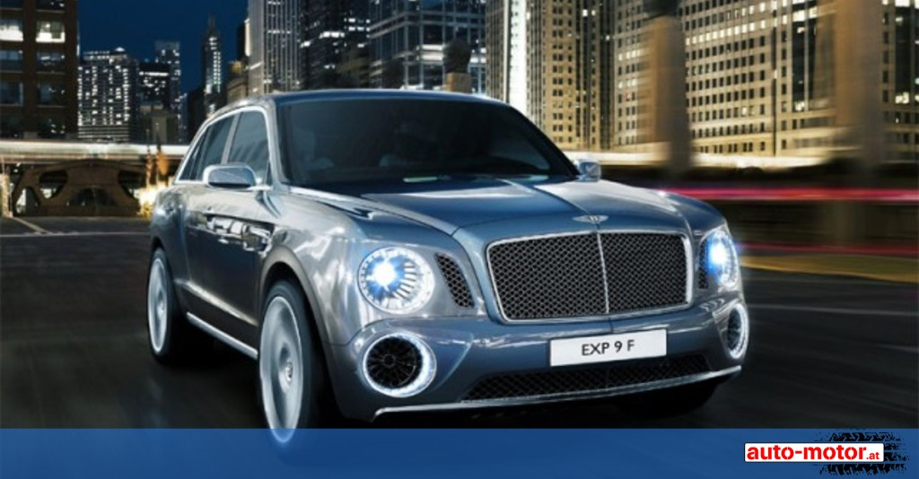 Bentley Suv Kommt 2016 Auto Motor At