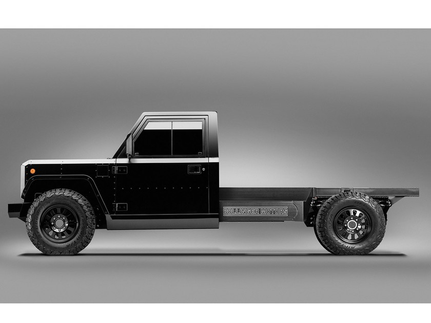 Bollinger b2 chassis cab 001