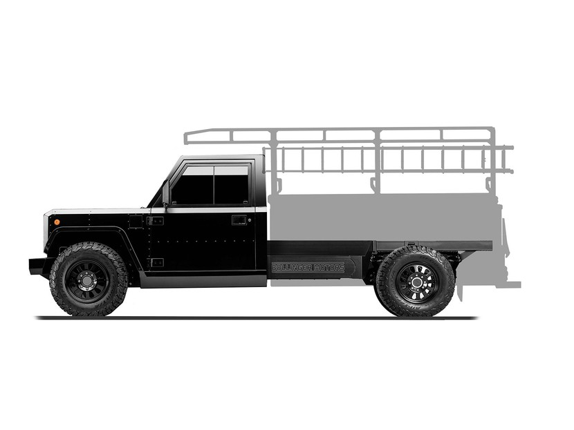 Bollinger b2 chassis cab 003