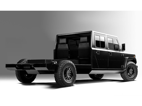 Bollinger b2 chassis cab 004