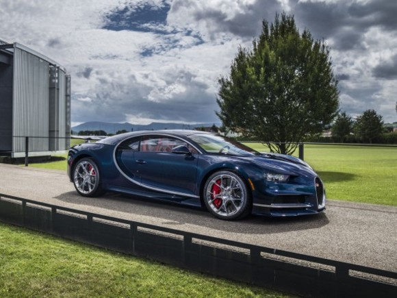 Bugatti bei der Monterey Car Week