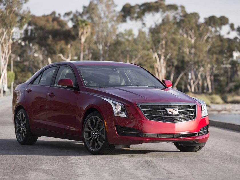 Black chrome package fuer cadillac ats cts 001