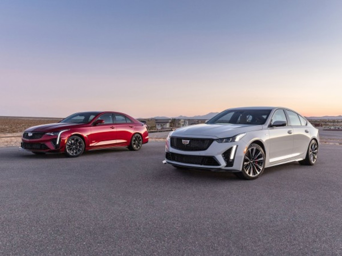 Cadillac CT4 und CT5 als V Blackwing Edition