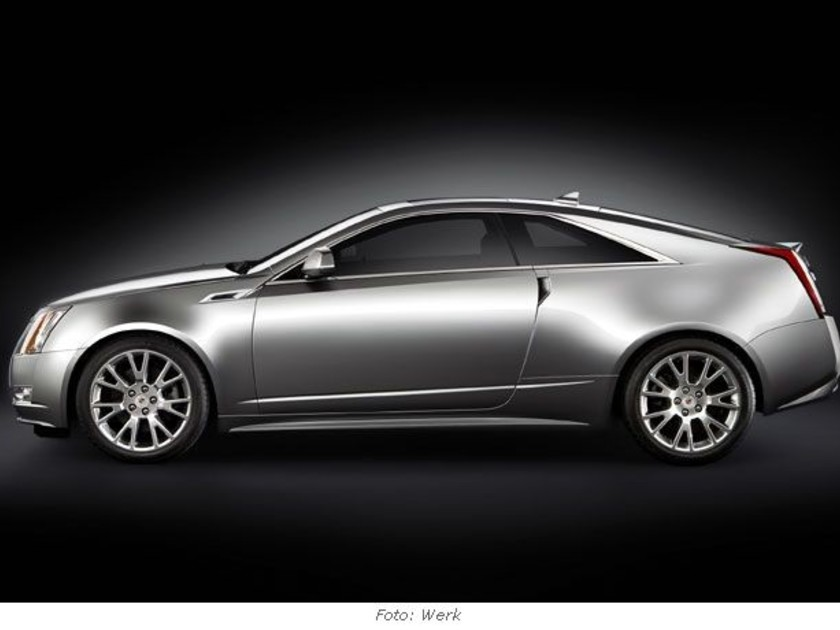 Cadillac cts coupe 1