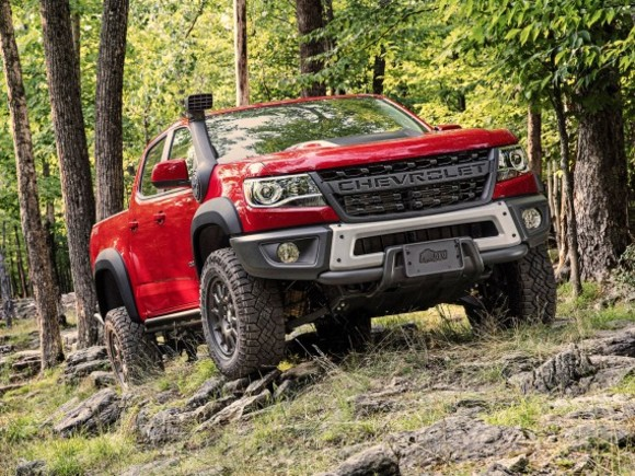 Der neue Chevrolet Colorado ZR2 Bison