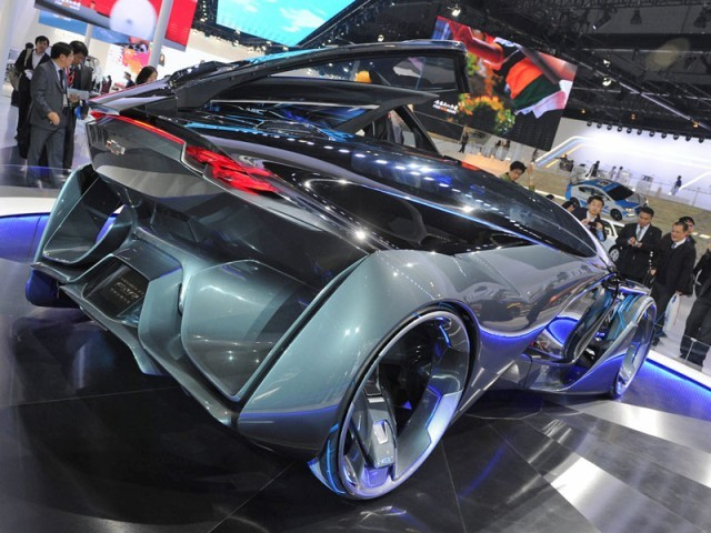 Concept car chevrolet fnr 002