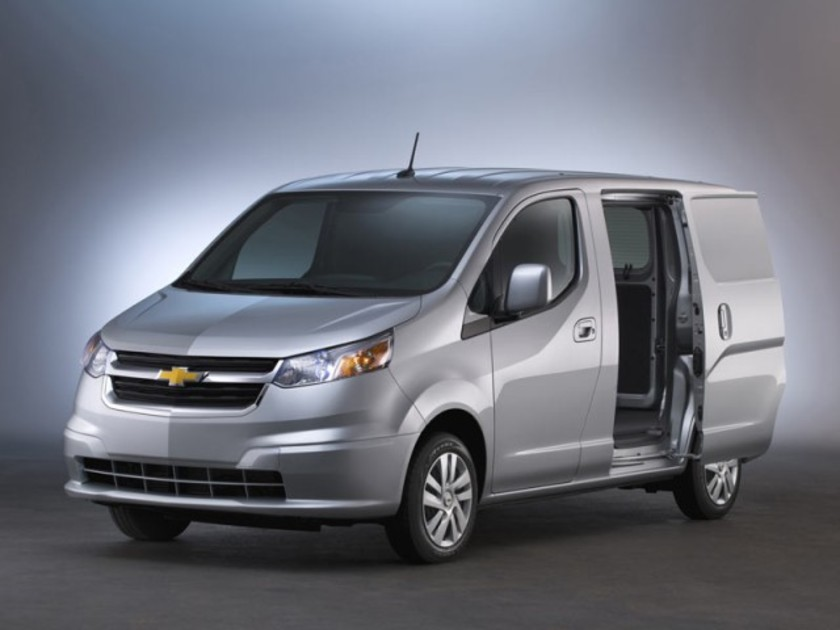 Chevrolet city express startet fruehling 001