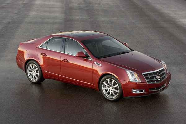 Cadillac cts vorne