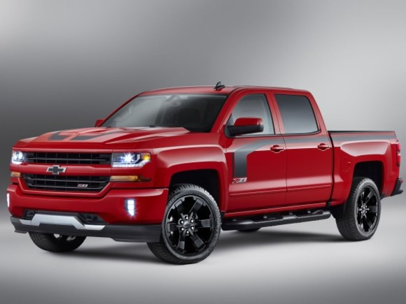 Neu: Chevrolet Silverado Rally Edition