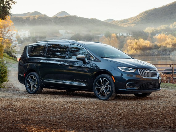 Facelift für den Chrysler Pacifica; Bildquelle: Chrysler
