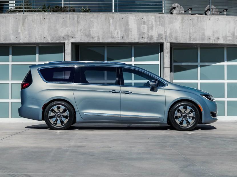 Voyager Nachfolger Der Neue Chrysler Pacifica Auto
