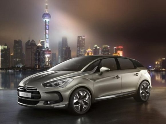 Citroen DS5 - Premiere in Shanghai