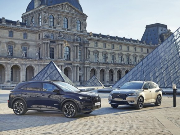 Sonderedition: DS 7 Crossback Louvre