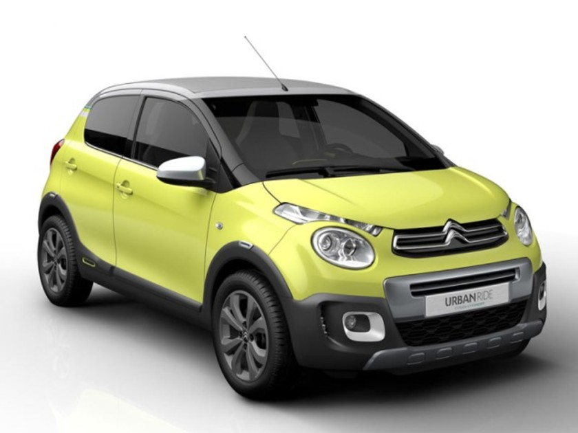 Citroen zeigt c1 urban ride concept paris 001