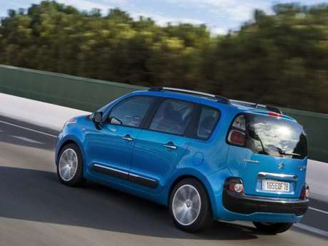 Citroen c3 picasso exclusive hinten