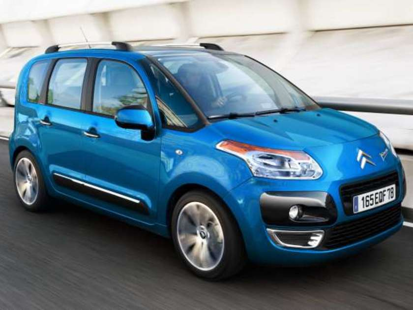 Citroen c3 picasso exclusive vorne
