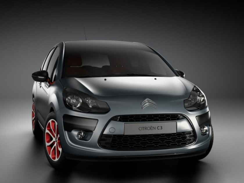 Limited edition citroen c3 red block 001