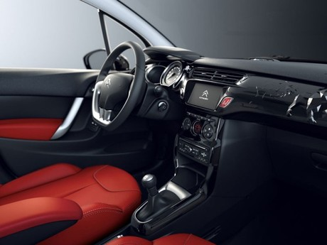 Limited edition citroen c3 red block 002