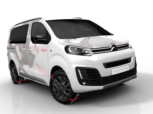 Citroen präsentiert Space Tourer 4x4 E Concept in Genf