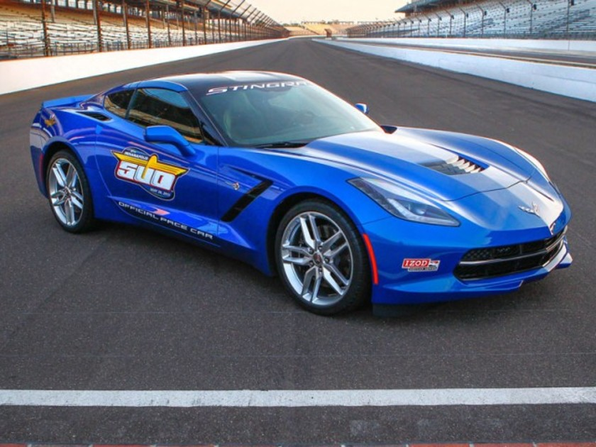 Neue corvette stingray als pace car 001