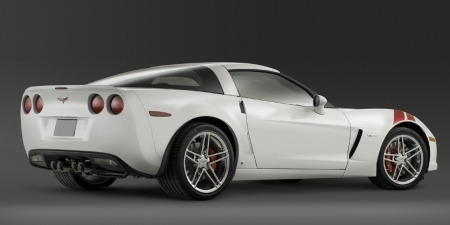 Chevrolet corvette z06 ron fellows hinten
