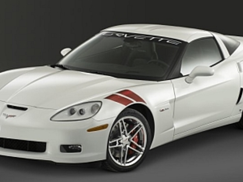 Chevrolet corvette z06 ron fellows vorne