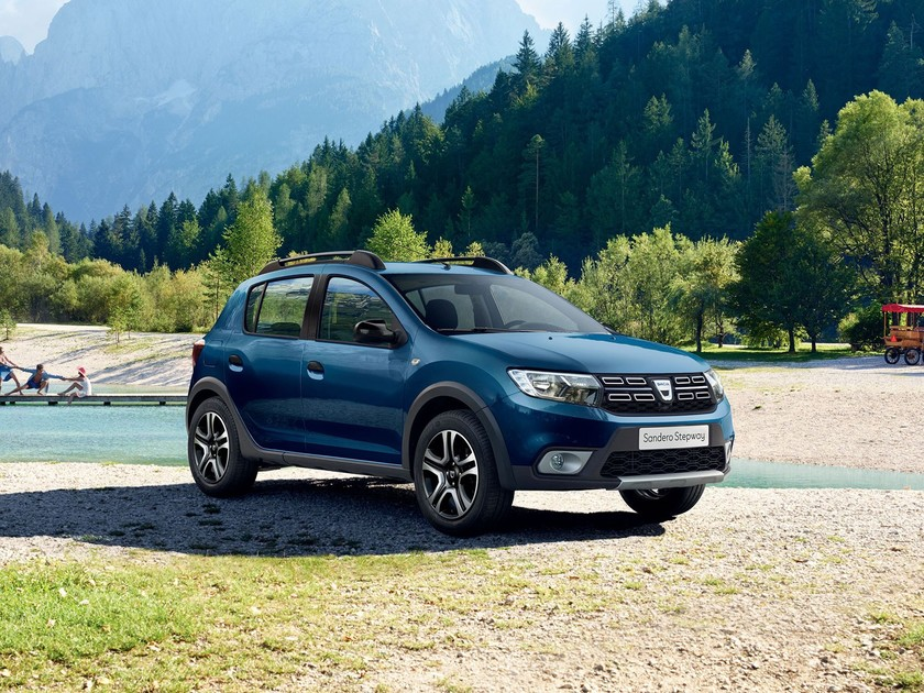 sondermodell beim dacia sandero stepway auto. Black Bedroom Furniture Sets. Home Design Ideas