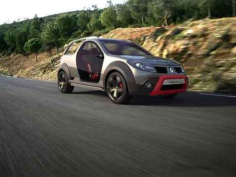 Renault sand up concept front