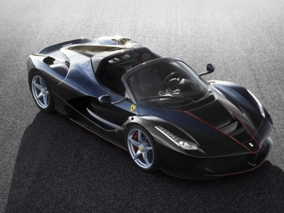 Paris 2016: Hardtop-Version des Laferrari