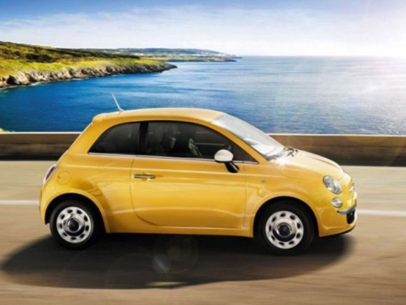 Neu: Fiat 500 Color Therapy