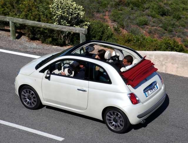 Das Neue Fiat Cabrio 500c Auto Motor At