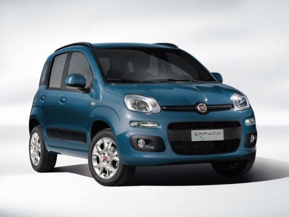 Premiere in Paris: Fiat Panda Natural Power