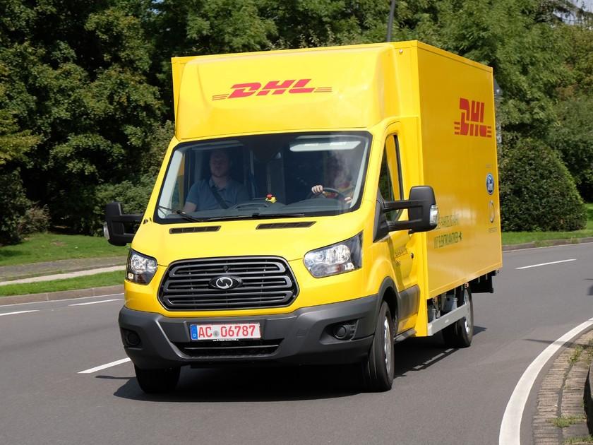 Dhl Und Ford Stellen Elektro Transporter Streetscooter Work Xl Vor