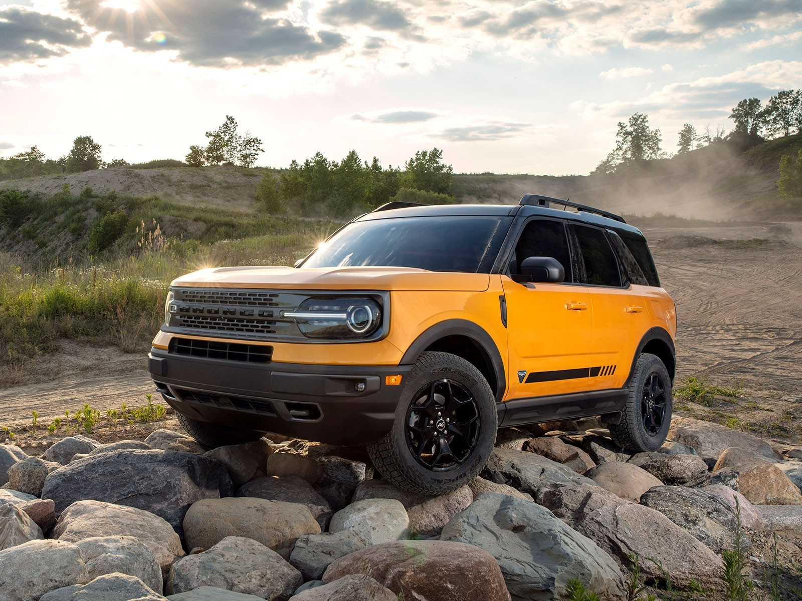 Ford Bronco Sport Frontansicht