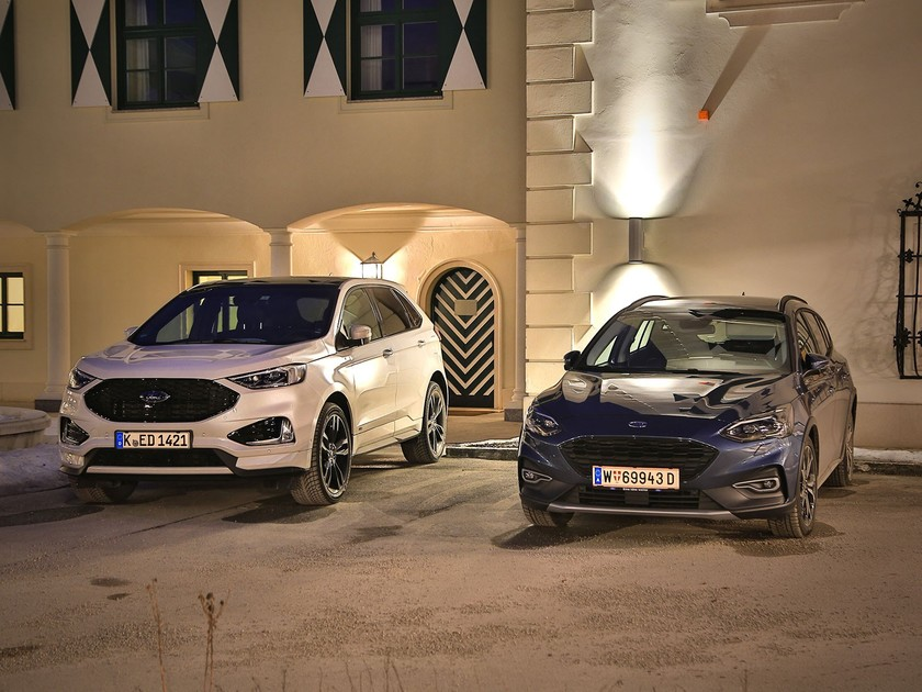 Ford Edge und Focus Active im Test