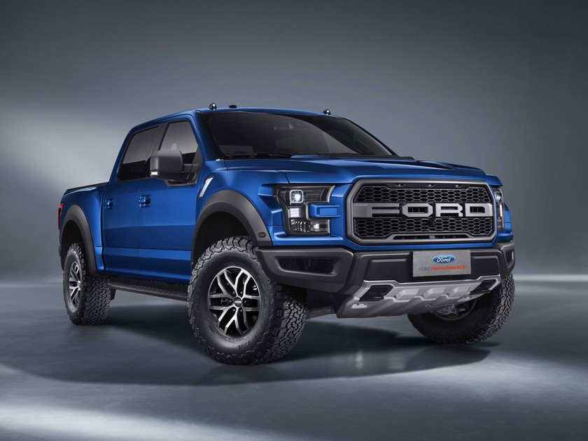 China-Premiere: Ford F-150 Raptor Supercrew ::: auto-motor.at :::