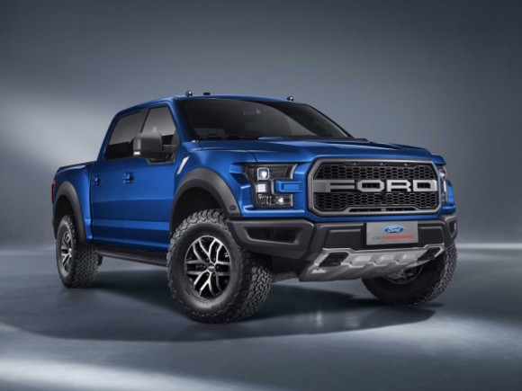 Premiere für den Ford F-150 Raptor Supercrew in China