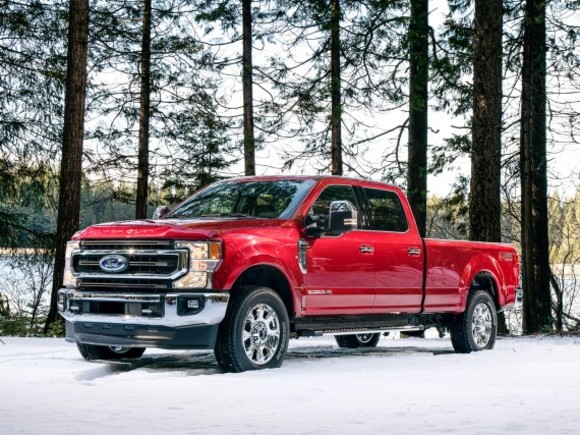 Die neuen Ford F-Series Super Duty-Modelle
