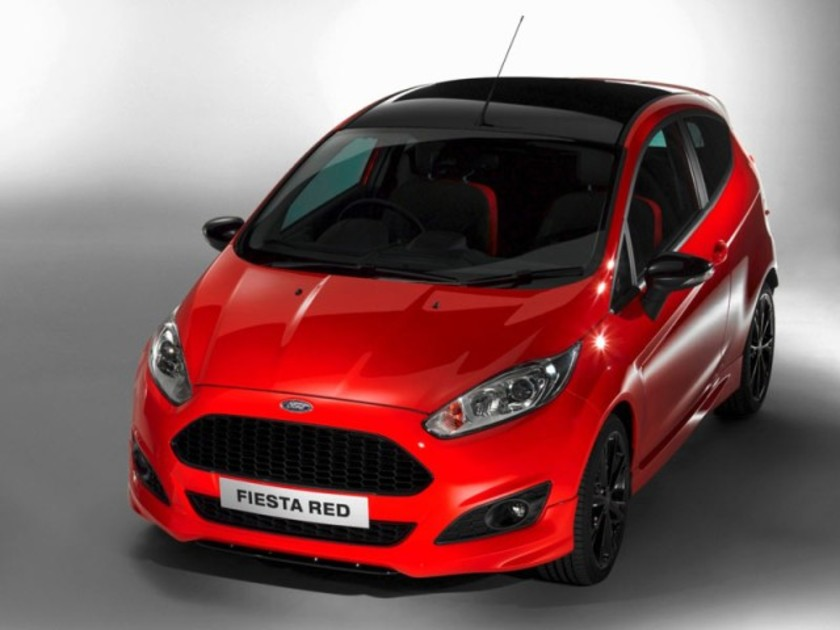 Neu ford fiesta red edition 001