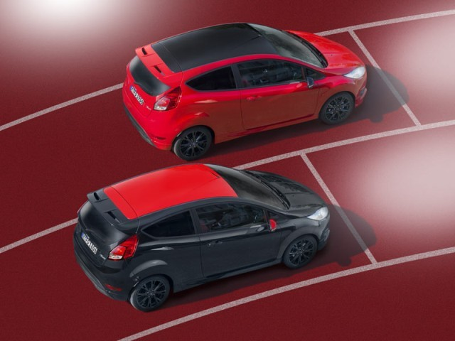 Neu ford fiesta red edition 002