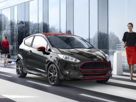 Neu ford fiesta red edition 003