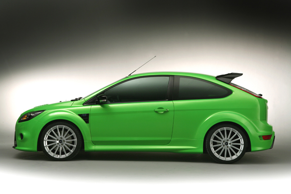 Ford focus rs seite