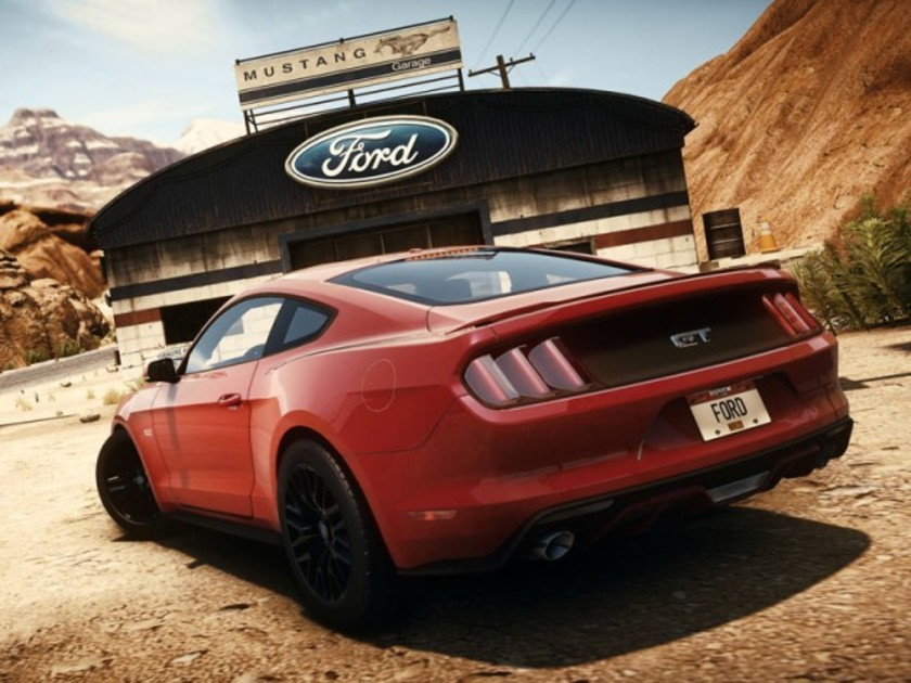 neuer ford mustang bei need for speed auto. Black Bedroom Furniture Sets. Home Design Ideas