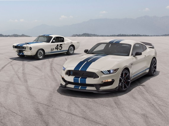 Ford Mustang Shelby GT350 mit neuem Package; Bildquelle: Ford