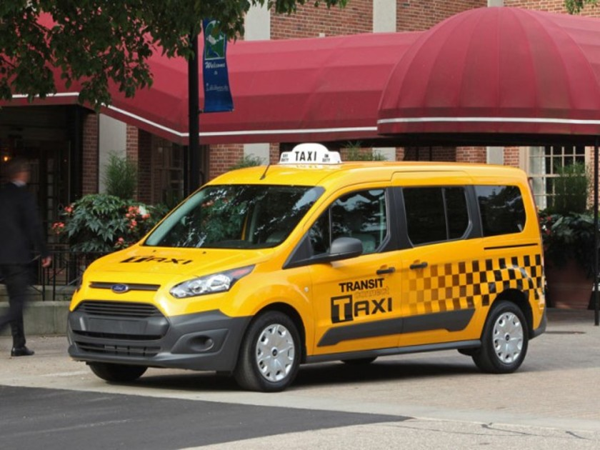 Ford transit connect als taxi fuer us markt 001